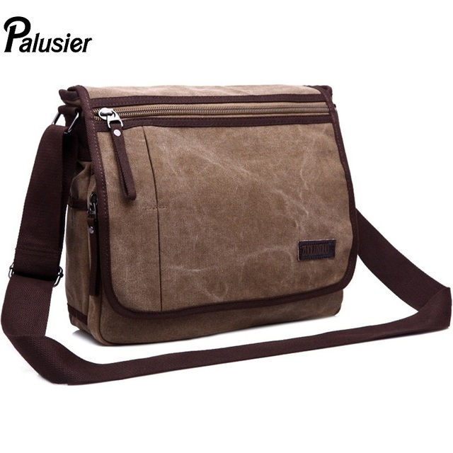 c8fca1f18f66 Men Stylish Canvas Messenger Bag Soft Postman Package Male Designer Cover  Casual Style Crossbody Shoulder Bag