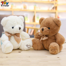 купить 20cm Plush Teddy Bear Toy Doll Toys Stuffed Animals Children Kids Baby Kawaii Birthday Gift Home Shop Decoration Triver дешево