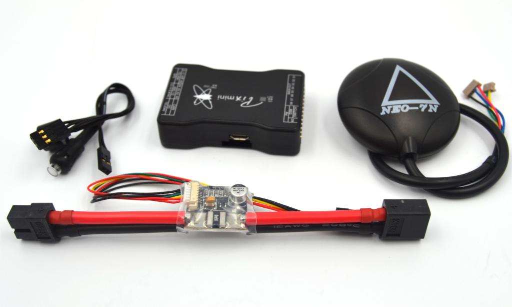 drone Upgraded APM2.6 MINI APM PRO Flight Controller +NEO-7N 7N Gps + Power Module la76932n 7n 56v6