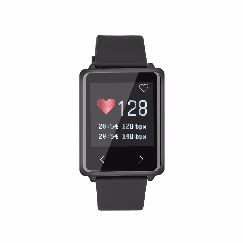Fashion Smart Wristband TK002 IP67 Heart Rate Monitor Long standby Fitness for Android IOS PK Xiaomi