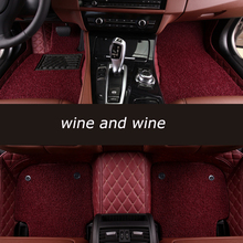HeXinYan Custom Car Floor Mats for DS DS-5LS DS-6 DS-5 car styling auto accessories kelual ds цена