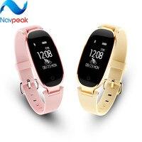 1pc Women S3 Smart Bracelet Heart Rate Monitor Alarm Clock Waterproof Fitness Watch Tracker Pedometer Step