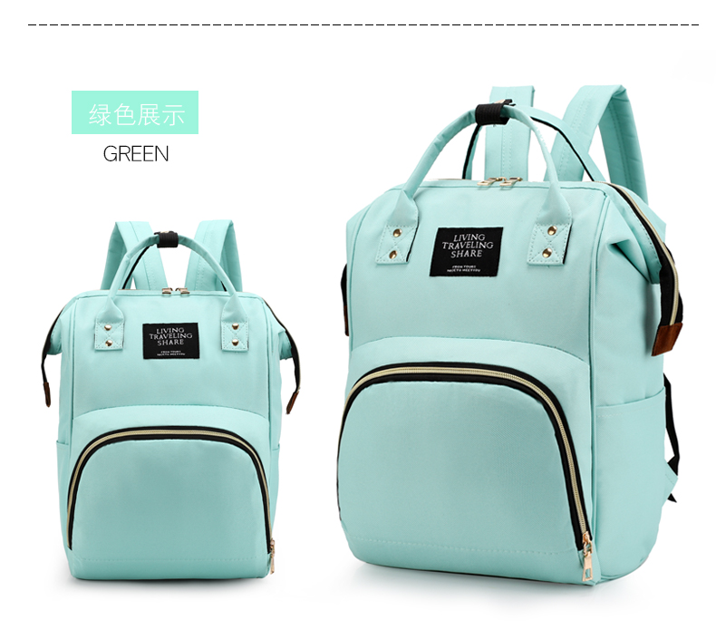 HTB1tzc cA9E3KVjSZFGq6A19XXaP Large Capacity Mummy Bag Maternity Nappy Bag Travel Backpack Nursing Bag for Baby Care Women's Fashion Bag