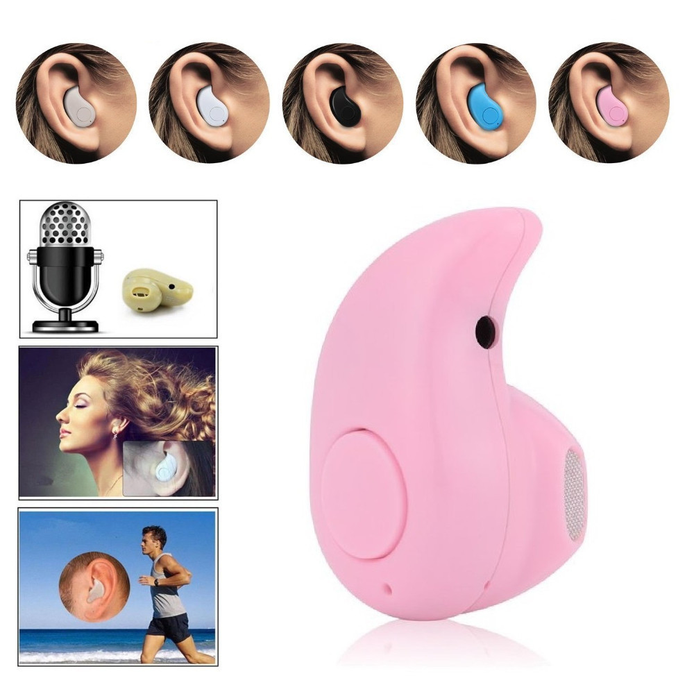 2016 Super mini Bluetooth earphone V4.0  Wireless Handfree Universal for all Smart phones