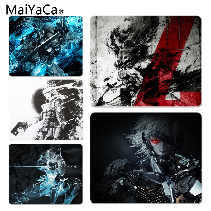 MaiYaCa Personalized Cool Fashion Metal Gear Game Keyboard Gaming MousePads Size for 180x220x2mm and 250x290x2mm Small Mousepad