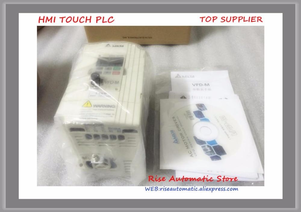 VFD M Inverter AC motor drive 1 phase 220V 1 5Kw 2HP 7A 400HZ new VFD015M21A