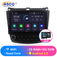 Android 9.0 RAM 2g Car DVD Stereo Player GPS Glonass  Navigation for Honda Accord 7 2003-2007 Auto Radio RDS Audio Video цена