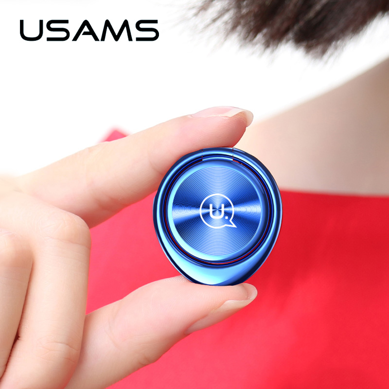 USAMS Phone-Ring-Bracket Mobile-Phone-Holder Table-Top-Selling Magnetic iPhone Universal