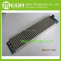 Free Shipping JY MCU 3208 Lattice Clock HT1632C Driver MCU Support With A Secondary Development Dot