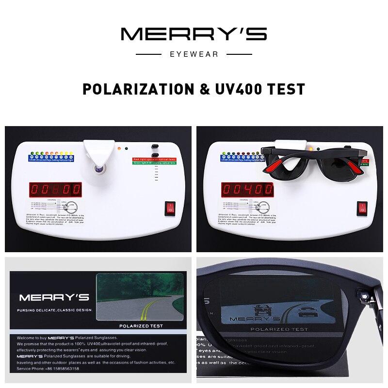 Fashion Square HD Polarized Sunglasses Men Women Classic Retro Glasses Outdoor