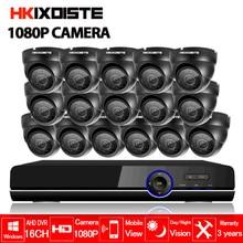 HD 16channel 1080P AHD DVR kit Video surveillance camera Security corridor Indoor 2MP 1080P Camera CCTV System 16CH DVR system