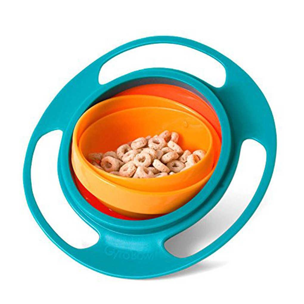 การออกแบบเด็กเด็กของเล่นเด็ก Universal 360 หมุนจานชามให้อาหารของเล่นเด็กวัยหัดเดิน 360 หมุน Gyro เด็ก