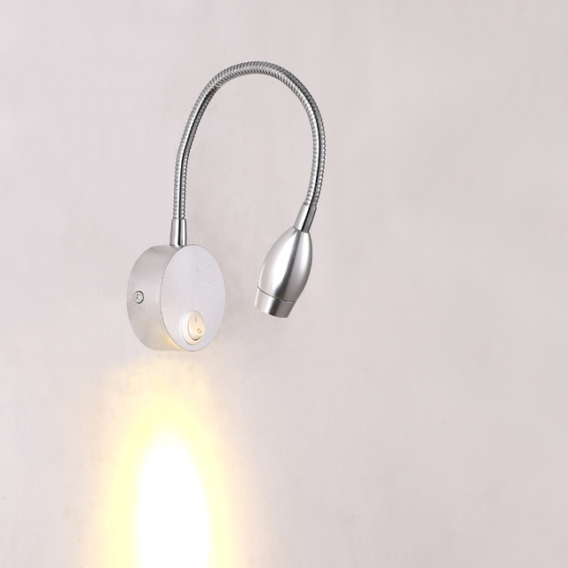 3w led wall light bedside lamp reading lamp wall lamp led plumbing house lighting painting mirror light