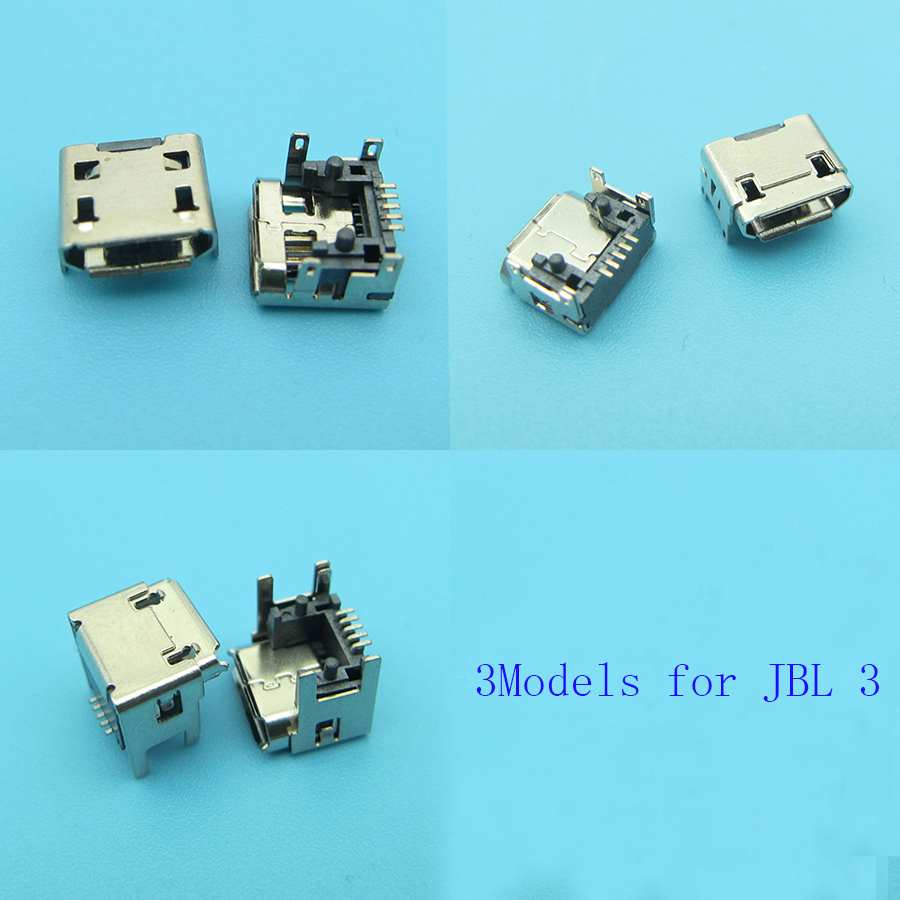 3model for JBL Charge FLIP 3 Bluetooth Speaker New female 5pin type B Micro mini USB Charging Port jack socket Connector