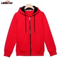 LiSENBAO 2018 New Arrival Hoodies Men hoodies men brand clothing High quality hoodies casual fashion male hoodie sweatshirt 783