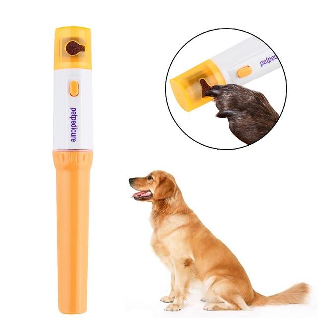 Dog Electric Nail Grinder Grooming Kit