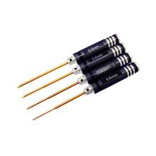 4pcs set RC Tools Hexagon Head Hex Screw Driver Tools Set Kit 1 5 2 0