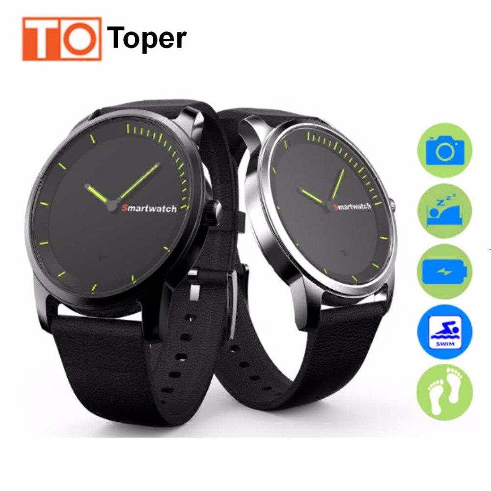 imágenes para Toper Deportes Reloj Inteligente Reloj Podómetro Sleep Monitor de Gimnasio Rastreador Impermeable IP68 N20 Smartwach Inteligente para IOS Android
