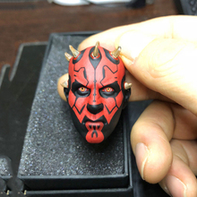 Supernatural Star Wars Solider Darth Maul Head Carving Head Model 1/6 Male Head Sculpt Fit 12 Action Figure Body	1/6 Scale BJD 1 6 scale kobe head sculpt basketball star head carving model toys sotoys so 13