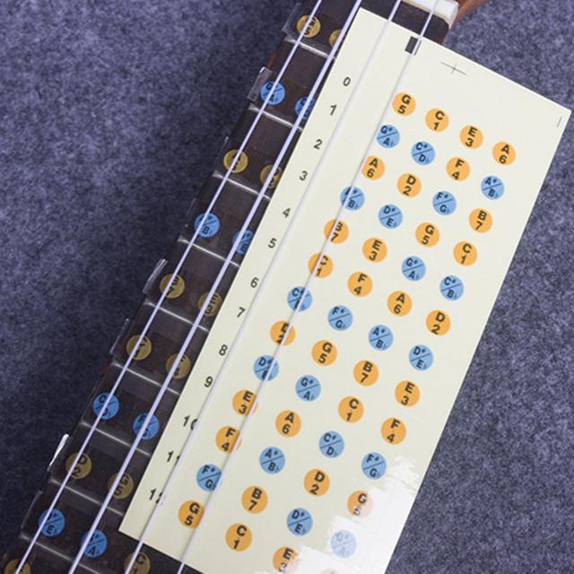 Ukulele Scale Sticker for Beginners