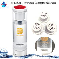 7.8Hz MRETOH Molecular Resonance Effect Technology and SPE hydrogen water generator H2 water bottle factory Outlet