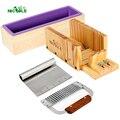 Набор инструментов для изготовления мыла из силиконового мыла-4 деревянных ящика для мыла с лезвием из нержавеющей стали из 2 частей DIY мыло ...