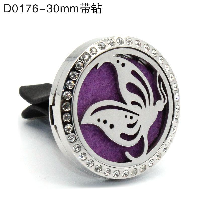 30 мм Автомобильный Ароматерапевтический диффузор медальон для