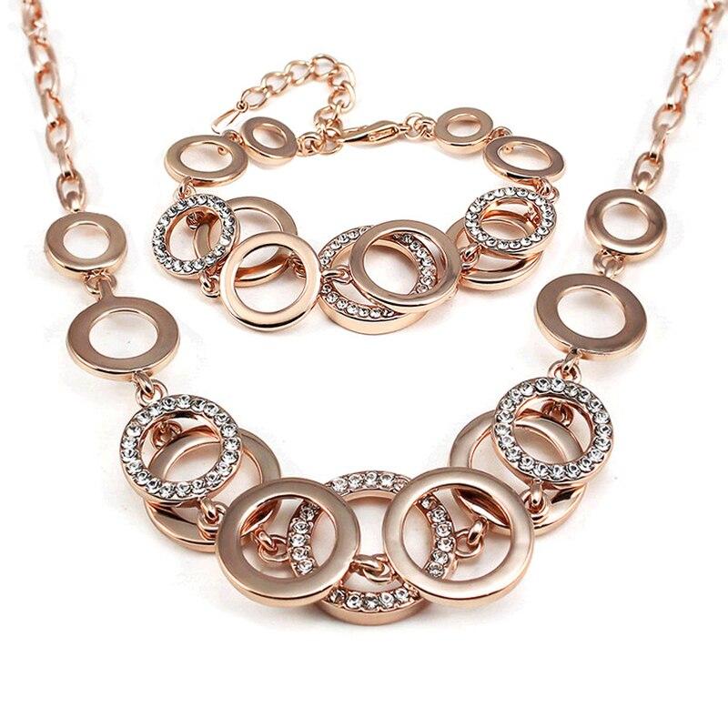 Luxury Silver Wedding Jewelrys