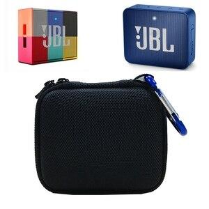 Image 5 - EVA Cứng Mang Theo Túi Ốp Lưng JBL Go 1/2 Loa Bluetooth, Túi Lưới Cho Bộ Sạc Và Cáp