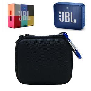 Image 5 - Hard EVA  Carry Bag Case Cover for JBL Go 1/2 Bluetooth Speaker, Mesh Pocket for Charger and Cables