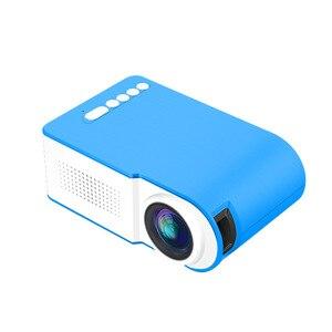 Image 2 - Novo yg210 casa micro projetor led mini projetor portátil 1080 p hd