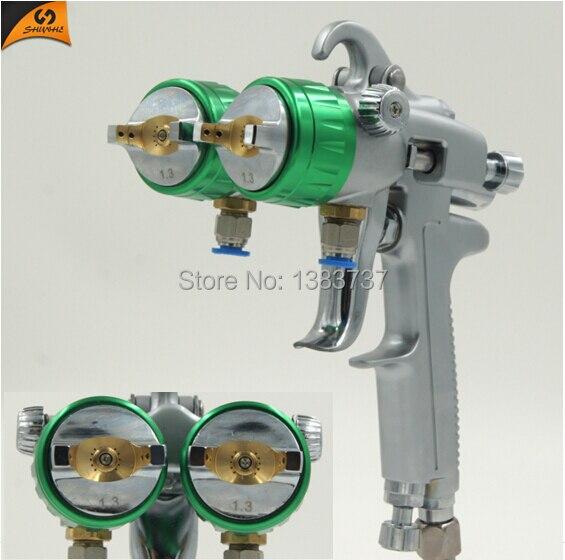 SAT1189 kaks topeltdüüsiga pihustit kroomitud hea kuumuskindlusega - Elektrilised tööriistad - Foto 4