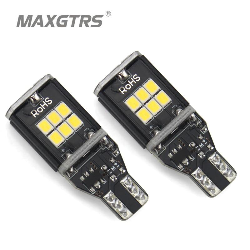 2x MAXGTRS T15 W16W 921 912 Gelb/Weiß Auto Led lampe CANBUS ...