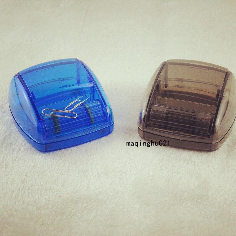 Grande Capacité Clip Pin Boîte De Rangement Rouleau clip holder Magnétique Tête Accessoires De Bureau Oficina Organizador Clips Titulaire