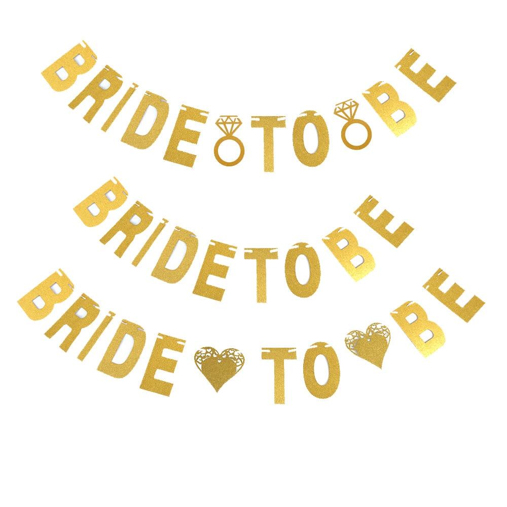 Single Glitter Gold Paper Letter For Diy Hanging Banners Garlands
