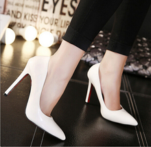 Classic women shoes red bottom High heel Ladys sexy stiletto valentine High heels Party shoes woman pumps Size 35-41