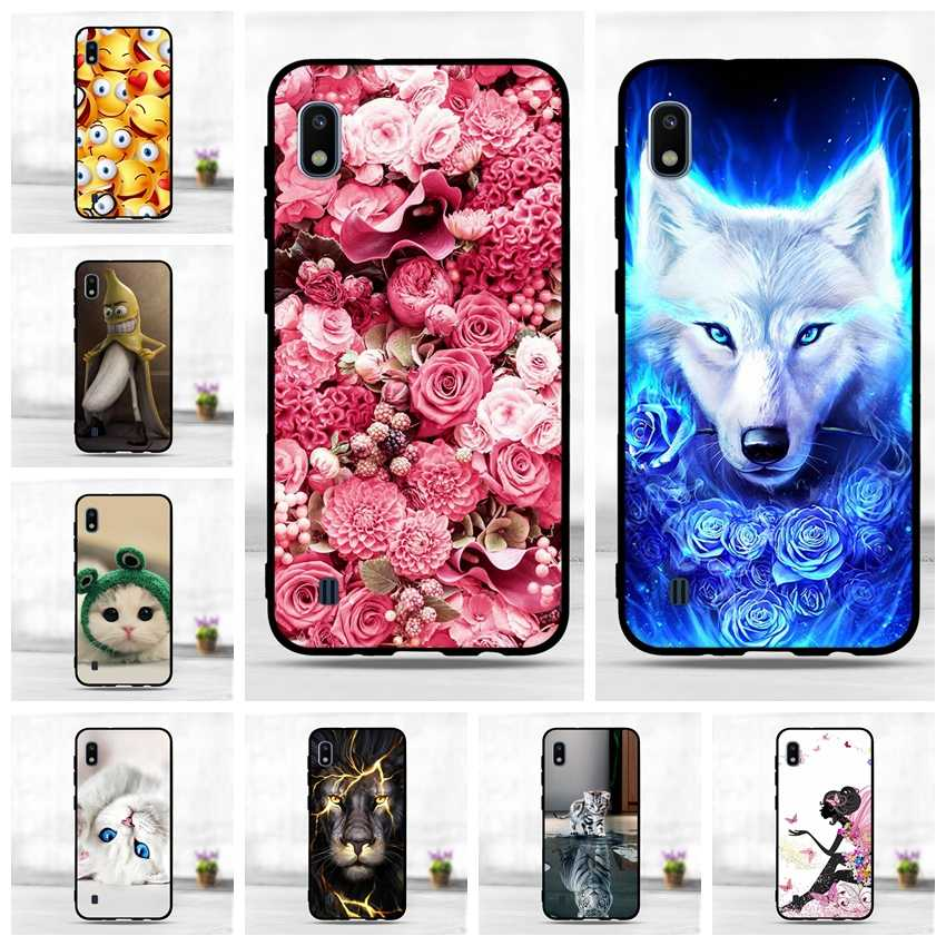 Phone For Samsung Galaxy A10 A20 A30 A40 A50 Case Silicone TPU Cover For Samsung A50 A40 A30 A20 A10 Case Soft Black Back Cover