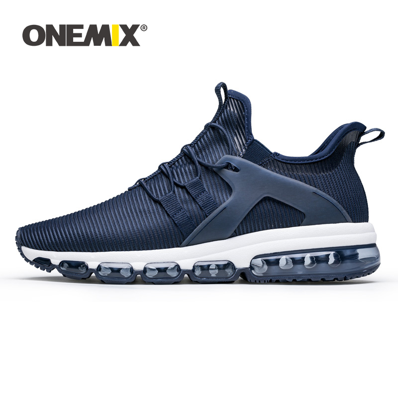 ONEMIX Running Shoes Unisex Sneakers 2019 New Lightweight Breathable Air Cushion Non-Slip Men Casual Loafers Jogging Sport Shoes