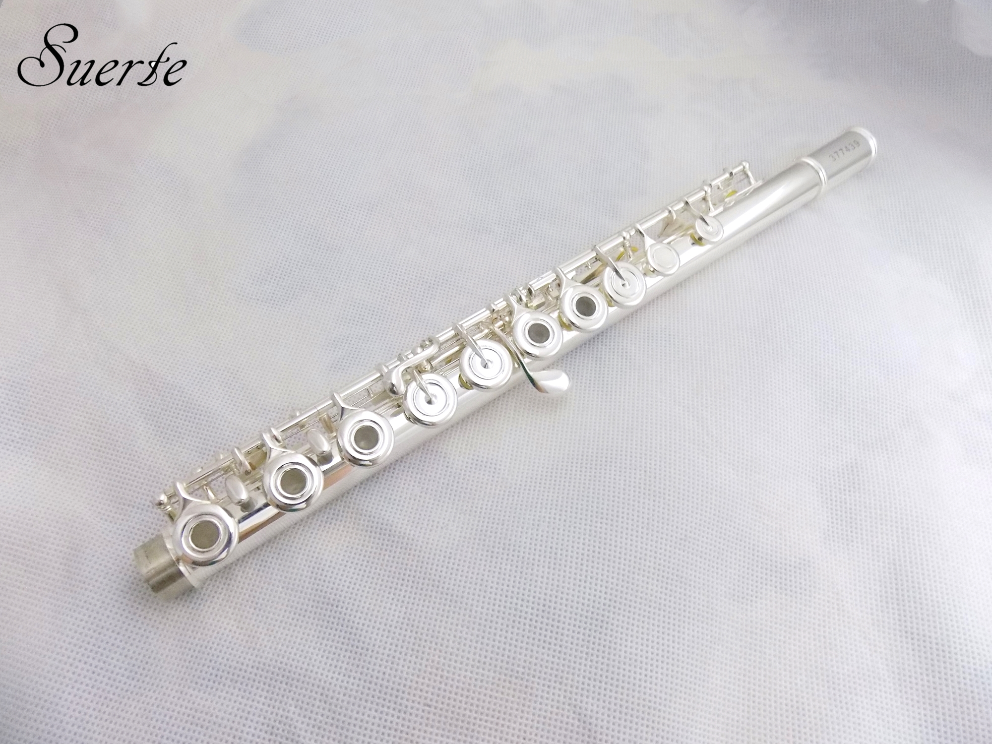 Купить с кэшбэком 17 Open Holes Flute B footjoint Cupronickel Flutes French Key Italy Pads with Foambody Case Musical Instruments