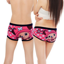 Quality Cotton Couple Underwear Mens Boxer Shorts Cartoon underwear Lovers Panties Cuecas Calzoncillos Underpants