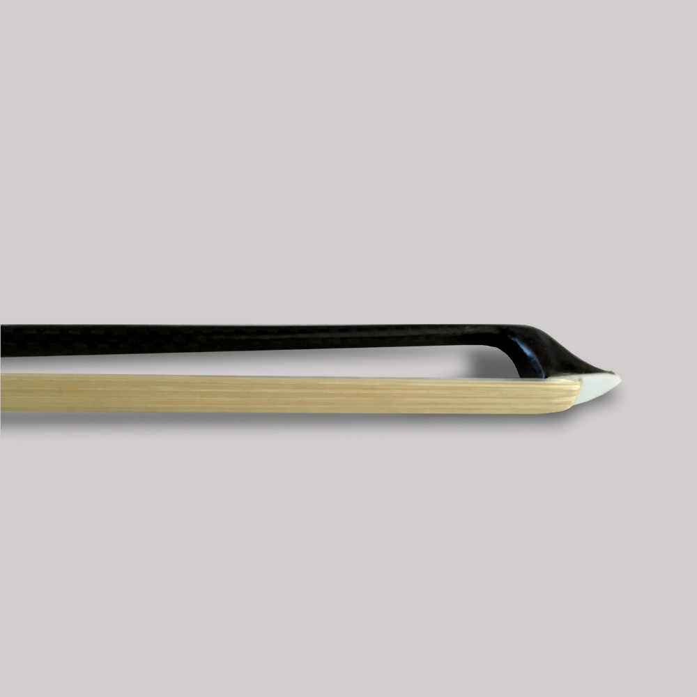 TONGLING Silver Braided Carbon Fiber bonութակի Bow 4/4 3/4 - Երաժշտական գործիքներ - Լուսանկար 4