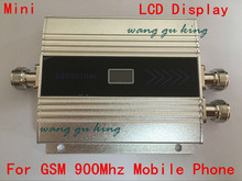New LCD display Tow Indoor antenna repeater GSM 900Mhz Cell Phone Signal Repeater Booster Amplifier Signal Repeater