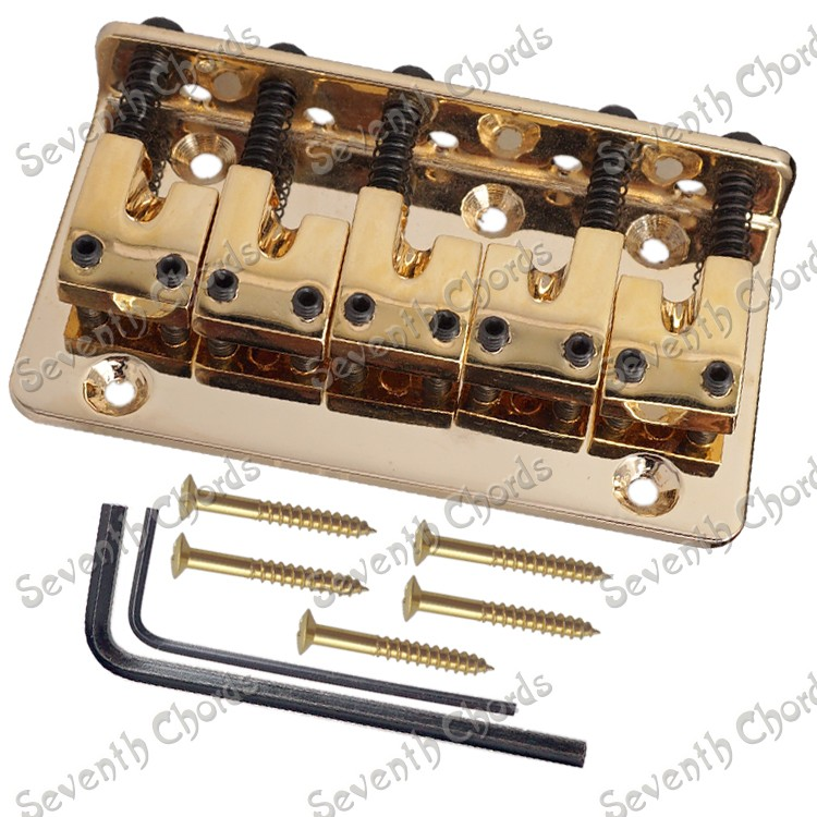 a set gold l shape 5 string bass guitar bridge bass parts in guitar parts accessories from. Black Bedroom Furniture Sets. Home Design Ideas