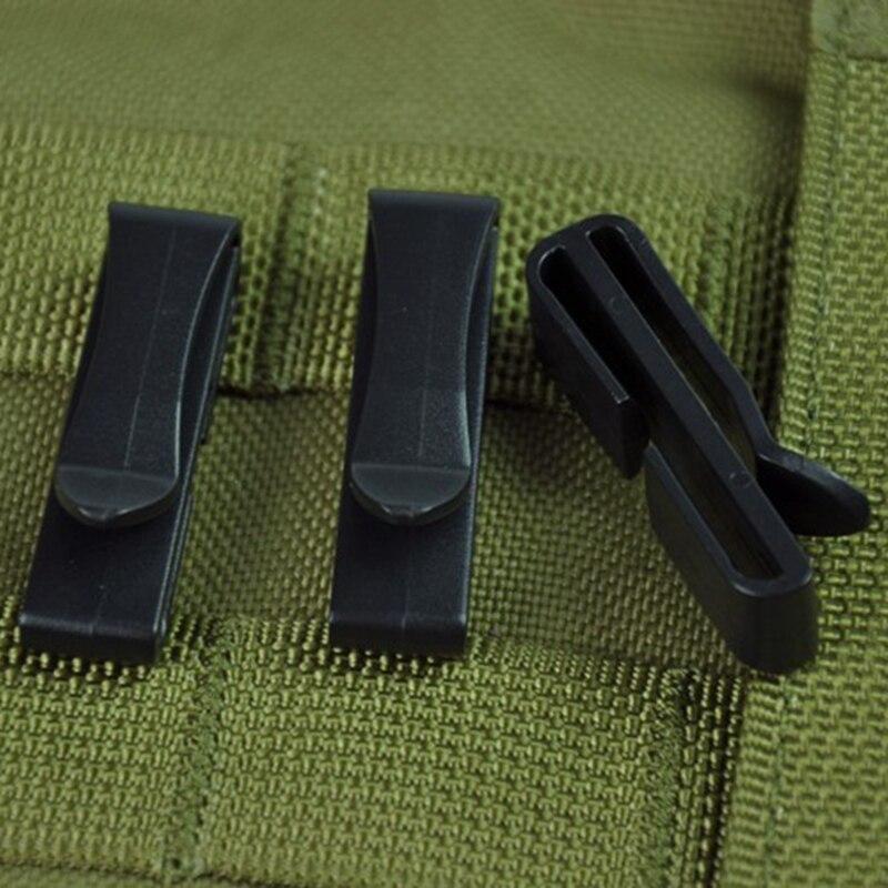 10 шт. наружная MOLLE пряжка для ремня ремень конец ремня зажим отрегулировать Хранитель тактический рюкзак сумка лагерь Поход ленты Конец пряжки