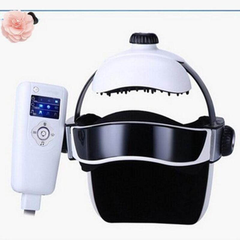 Head massage device electric head instrument one piece scalp massage machine Body massage, music head massager electric head eye eye massage instrument easy scalp brain massage machine