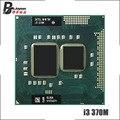 Процессор Intel Core i3-370M i3 370M SLBUK 2,4 ГГц двухъядерный четырехпоточный ЦПУ 3 Вт 35 Вт Socket G1 / rPGA988A