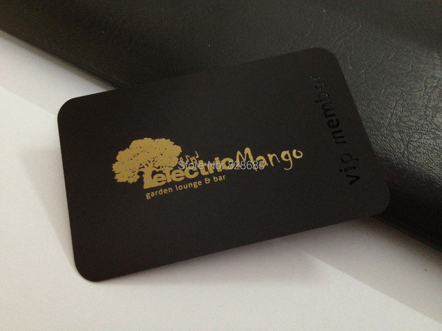 100pcs black metal business card with cutout and golden screen print 100pcs black metal business card with cutout and golden screen print high quality stainless steel reheart Images