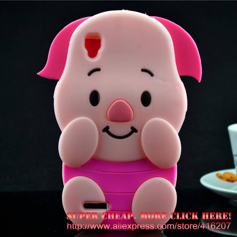 For <font><b>Oppo</b></font> A53 Case Pink Pig Piglet Silicone Rubber Cell <font><b>phone</b></font> Cases Covers <font><b>Phone</b></font> Case