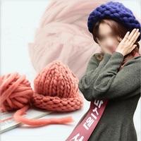 Special Coarse Yarn Thick Big Yarn For Hat Scarf Thick Knitting Diy Super Big Knit Wool