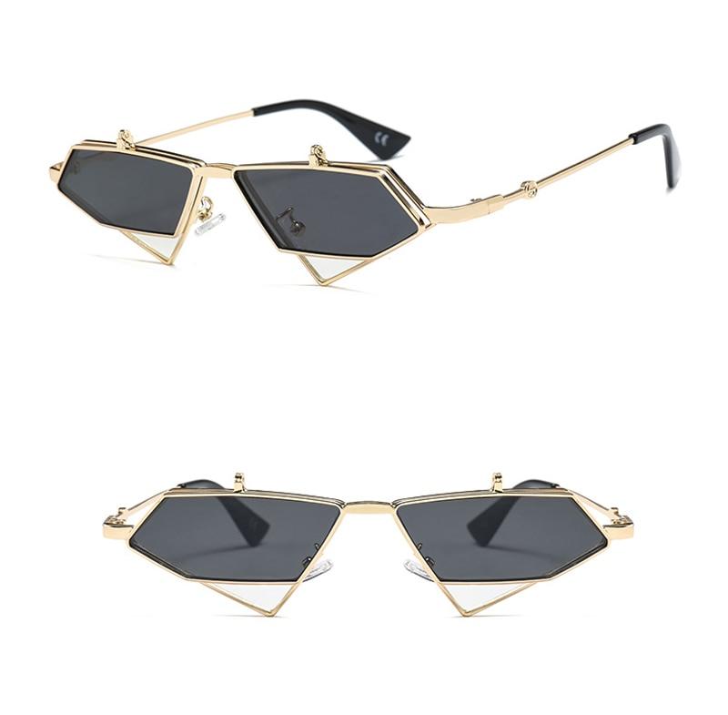 flip up sunglasses men punk style detail (5)